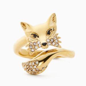 Kate Spade ♠️ NWT Gold Fox Ring